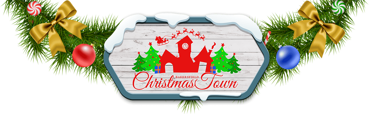 Bakersfield Christmas Town Logo